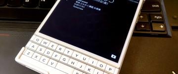 BlackBerry Passportを買いました